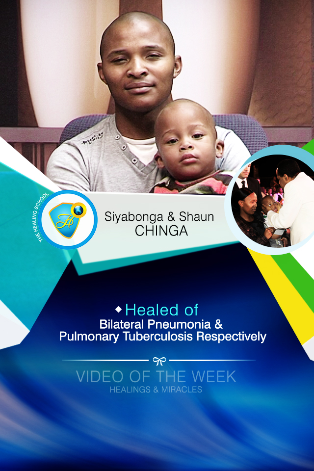 Healed of bilateral pneumonia and pulmonary tuberculosis respectively