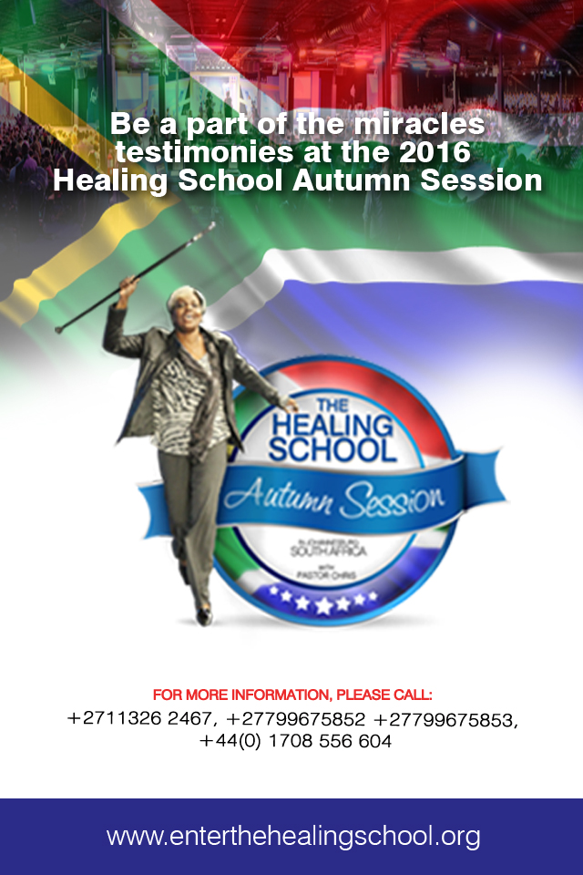 2016 Healing School Autumn Session