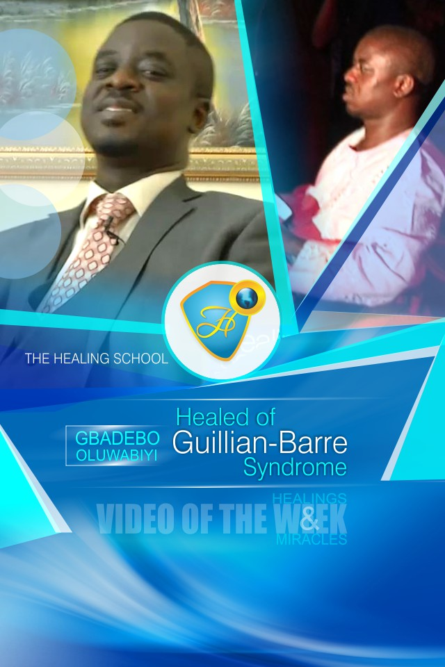 Healed of guillain-barre syndrome