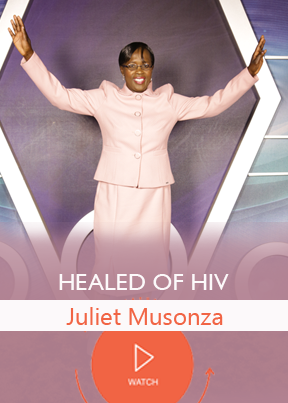 HEALED OF HIV