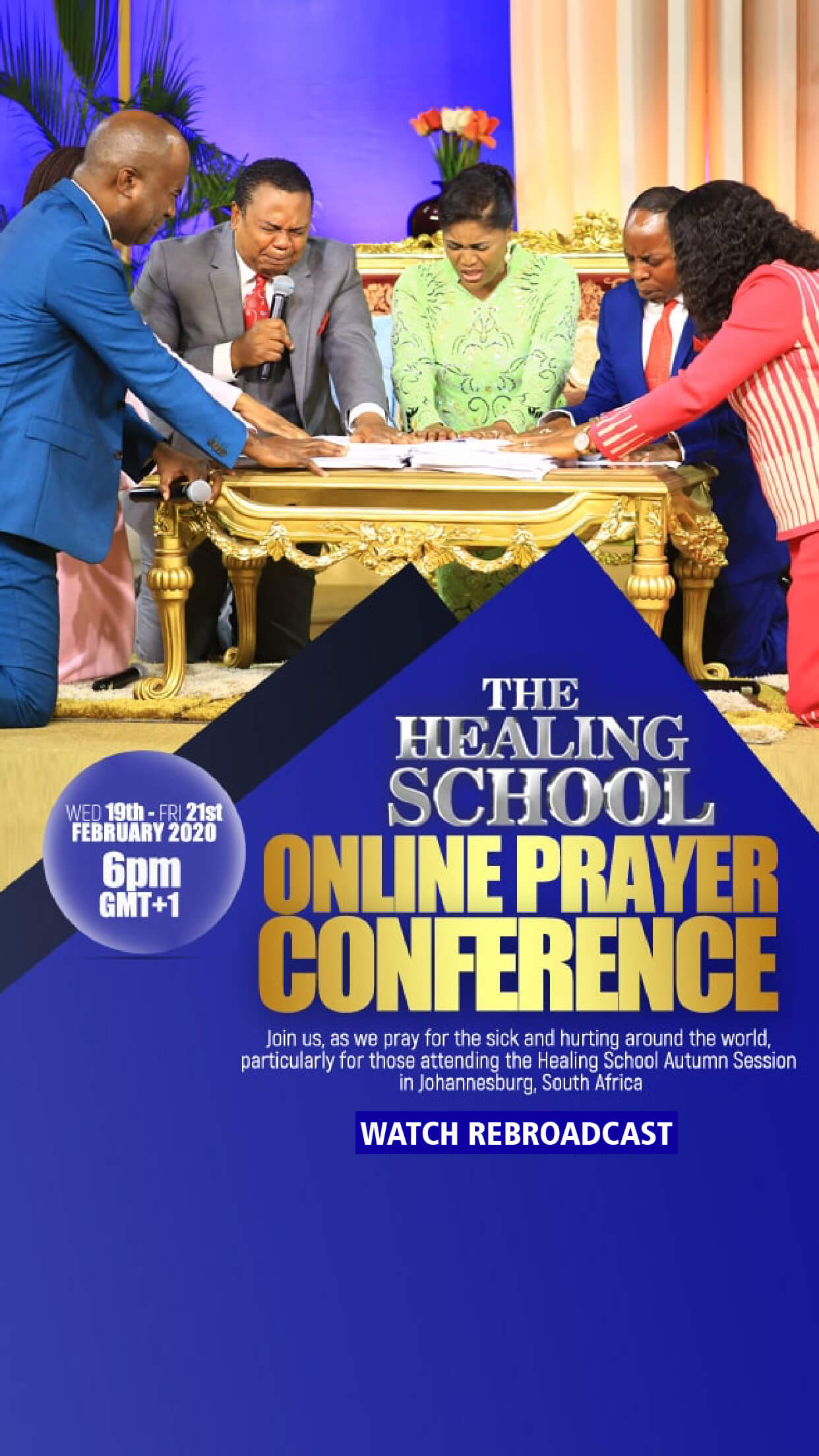 THE HEALING SCHOOL PRAYER CONFERENCE - FEBRUARY 2020