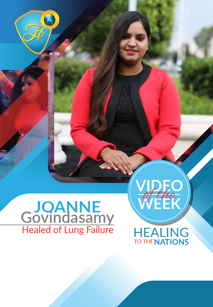 Healed of lung failure