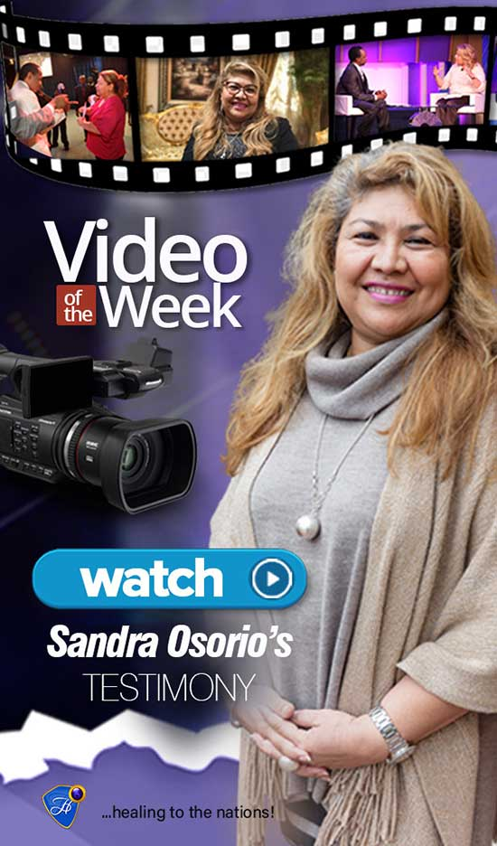 Healed of cancer of the uterus - Watch Sandra Osorio's testimony