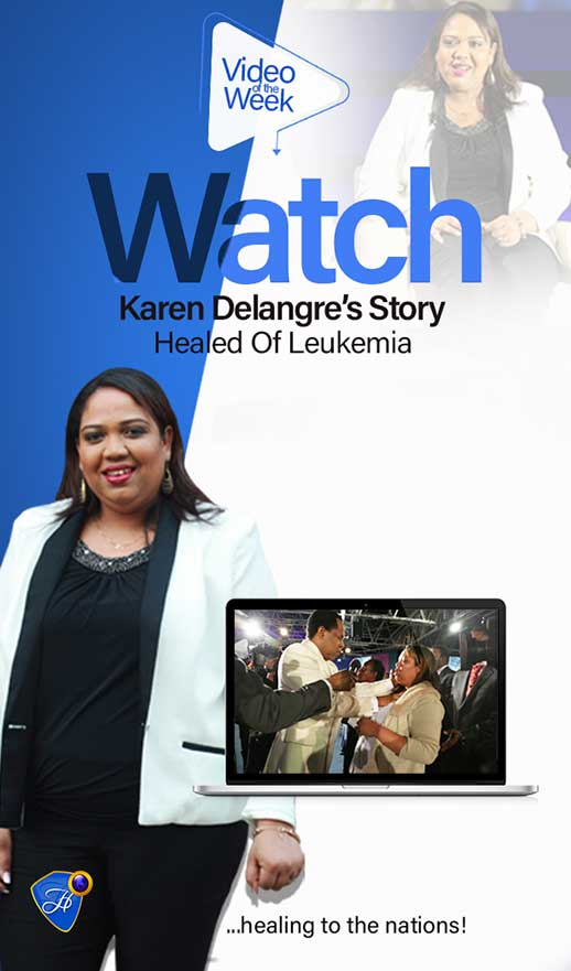 Watch Karen Delangre's Inspiring Testimony Of Healing From Leukemia
