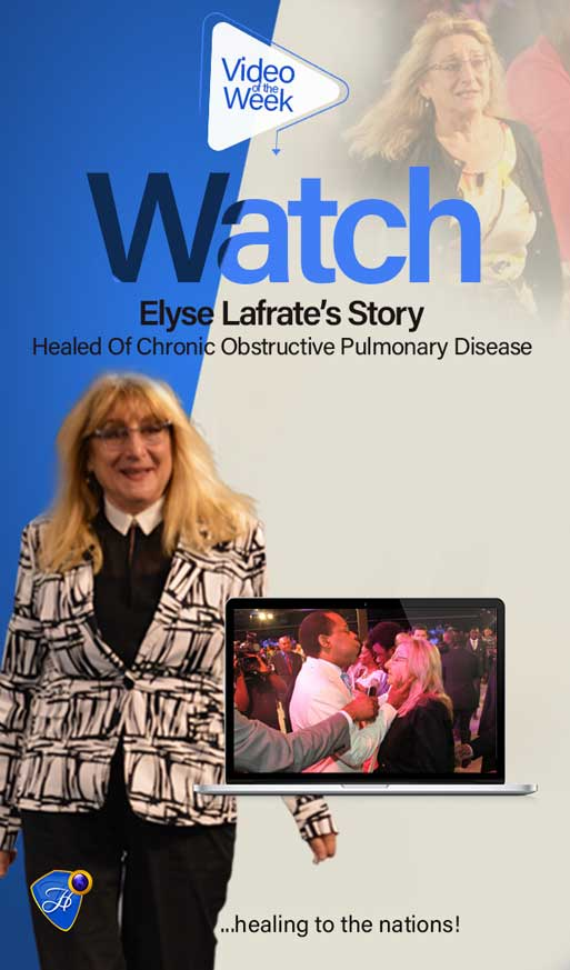 Watch Elyse's Inspiring Testimony Of Healing From Chronic Obstructive Pulmonary Disease