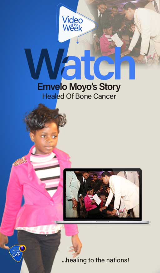 Watch Emvelo Moyo's Inspiring Testimony Of Healing From Bone Cancer