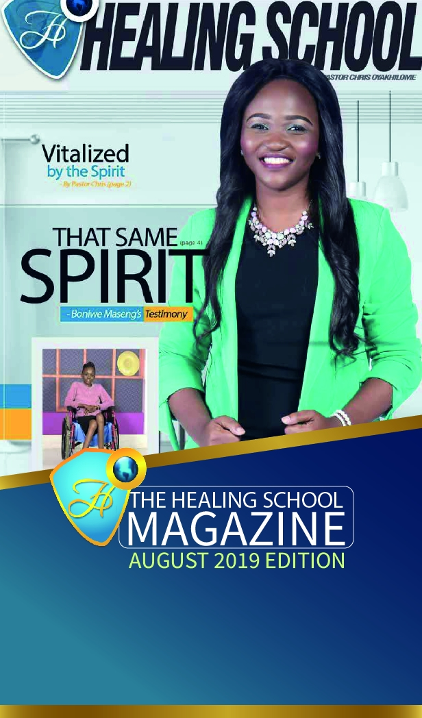 The Healing School Magazine - August 2019 Edition