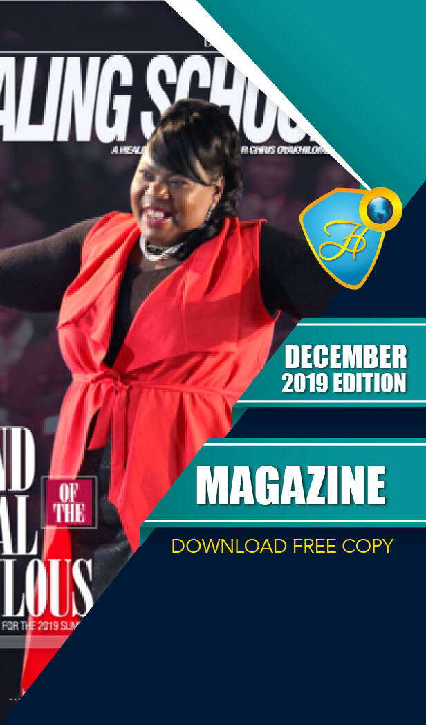 The Healing School Magazine - December 2019 Edition