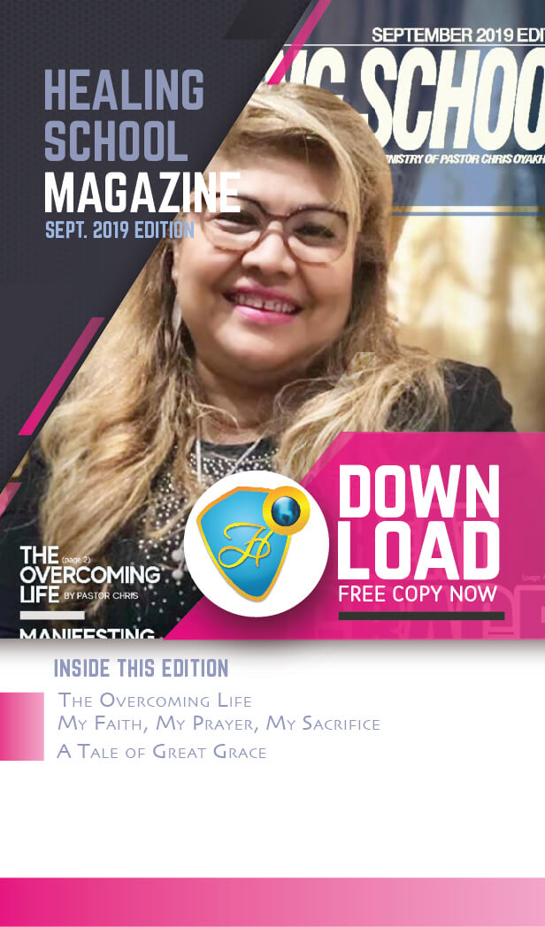 The Healing School Magazine - September 2019 Edition